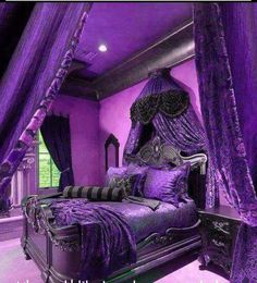Know that is really loving purple!