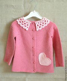 Одежда для девочек, ручной работы. Ярмарка Мастеров - ручная работа Кофточка для девочки With Love. Handmade.