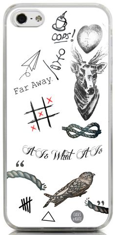 Louis Tomlinson Tattoos Interchangeable Phone Case
