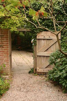 Chalice Well Garden Gate by ~FoxStox on deviantART