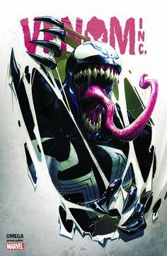 The Amazing Spider-Man/Venom: Venom Inc. Omega #1 (2018) ComicXposure Exclusive Variant Cover by Clayton Crain