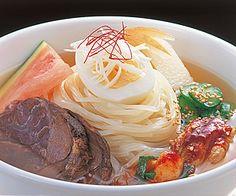 Morioka Reimen (cold noodle) - Morioka, Iwate, Japan  戸田久 盛岡冷麺