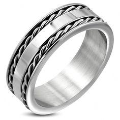 Keltische stalen ring
