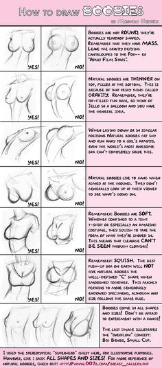 How To Draw Boobs - something every artist should know