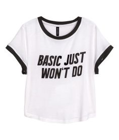 You know basic just won't do.. | H&M