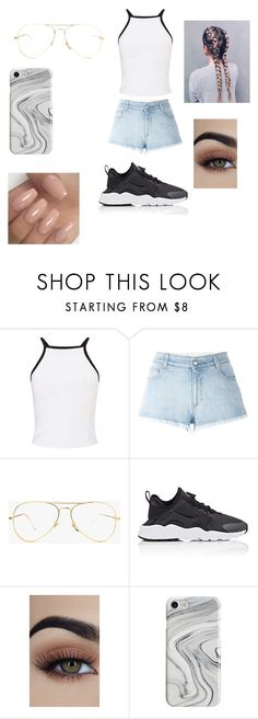 """""""Cute summer day"""" by fireriah on Polyvore featuring Miss Selfridge, STELLA McCARTNEY, NIKE and Recover"""