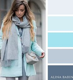 Pin by Shannon Holmes on Color Combos Colour Combinations Fashion, Color Combinations For Clothes, Fashion Colours, Colorful Fashion, Color Combos, Color Schemes, Blue Fashion, Cool Winter, Colour Pallette