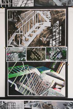Higher Expressive Development Morrison's Academy Architecture Sketchbook, Architecture Art, Level Design, Advanced Higher Art, A Level Art Sketchbook, Sketchbook Inspiration, Sketchbook Ideas, Ap Studio Art, Historia