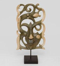 """Маска """"Абстракция"""", арт. 402811 Размер: 41см Материал:дерево Производство:Индонезия"""