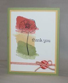 Happy Watercolor Thank You