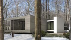 AECCafe.com - ArchShowcase - Green Woods House in Amagansett, New York by Stelle Architects