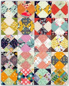 Bow Twist Quilt A new Technique with a pattern by Anita Grossman Solomon