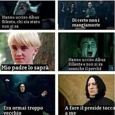 """Mio padre lo saprà"" : ma non serve che lo sappia Draco Albus Severus Potter, Harry Potter Draco Malfoy, Harry Potter Tumblr, Harry Potter Anime, Harry Potter Love, Harry Potter Memes, Harry Potter World, Saga, Dramione"
