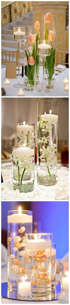 Romantic floating wedding centerpiece ideas / http://www.deerpearlflowers.com/floating-wedding-centerpieces/ #weddingdecoration
