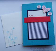 Stampin Up! CAS card
