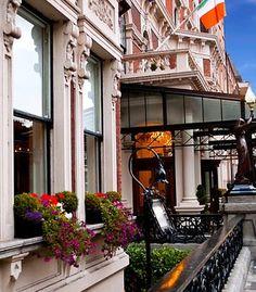 Shelbourne Hotel, Dublin, Ireland  Wish I was there!