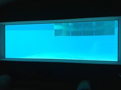Viewing panel in a swimming pool, manufactured and installed by our company! (Jhb SA)