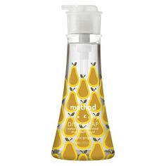 A personal favorite! We love anything that has an Orla Kiely print! Especially Method's pear ginger dish soap.