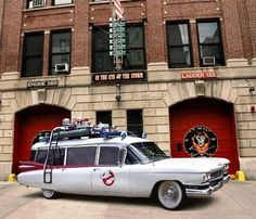 Ghost Busters.. I've always fantasized about that car!
