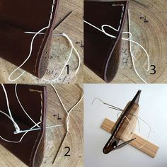 How to Hand Stitch Small Leather Goods