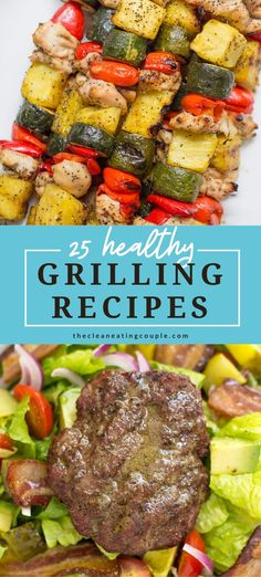 Healthy Grilled Chicken Recipes, Spicy Grilled Chicken, Healthy Turkey Recipes, Healthy Grilling Recipes, Clean Eating Recipes, Easy Summer Meals, Grilled Vegetables, Summer Picnic