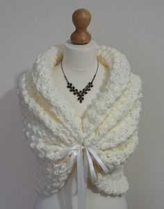 Autumn Wedding Shawl Bridal Cover Up Romantic Crochet Shawl Ivory Wrap Soft Bridal Cape Spring Wedding Bolero Jacket Ivory Capelet Blush Wedding Bridal Bolero, Bridal Cape, Wedding Bolero, Bridal Gown, Knitted Shawls, Crochet Shawl, Winter Wedding Shawl, Spring Wedding, Autumn Wedding
