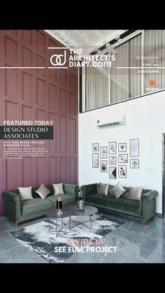 Villa Design, Home Room Design, House Design, Design Bedroom, Bedroom False Ceiling Design, Small Apartment Living, Apartment Design, House Rooms, Restaurant Design