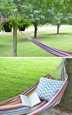 40 dollar hammock stand diy hammock stand ideas i don u0027t have trees for a hammock and didn u0027t want a metal frame so      rh   pinterest