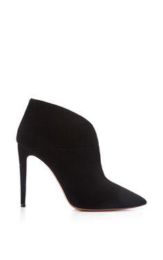 Inga Suede Ankle Boots by Aquazzura - Moda Operandi