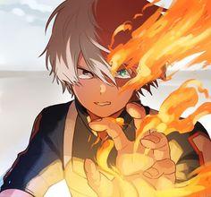 My Hero Academia // BNHA // Shoto Todoroki / Shoto / Quirk Half-Cold Half-Hot