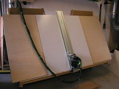 Combo Panel Saw and Lumber Cart - by tedth66 @ LumberJocks.com ~ woodworking community