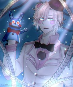 ✧ Tumblr ✧ Facebook ✧ Twitter ✧ I've been wanting to draw a FNAF gijinka for a while!   Otherwise, this week's been....a wild ride to say the least.