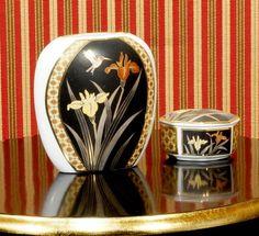 2 Raritäten aus Japan,Vase und kleine Dose von Freude am Wohnen - Wohnen mit Freude auf DaWanda.com