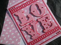 Handmade Valentine's Card by Comingupcrafts, $3.50