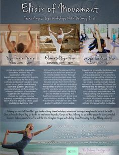 Join me for the first time at Yoga Alchemy, Perth! 15-17 January! Yoga Trance Dance, Elemental Yoga Flow + Lasya Tandava Flow