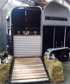 Converted Rice Trailer