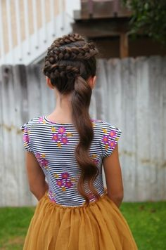 Cool Hairstyles For Kids Ponytail Hairstyles And Side Swept On Pinterest Short Hairstyles For Black Women Fulllsitofus
