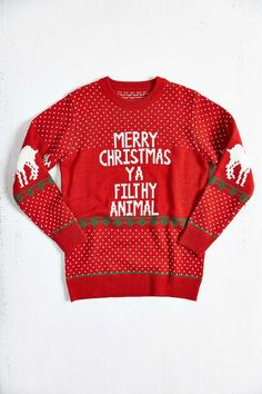 GREAT for that ugly sweater party!