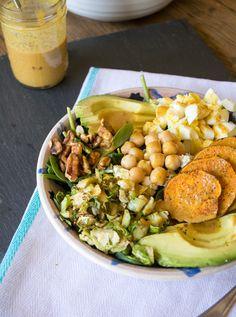Balsamic Almond and Turmeric Salad Dressing   LemonsandBasil.com