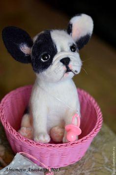 Купить Французская бульдожка Си-Си. - черно-белый, собака, французский бульдог, бульдог, бульдожка