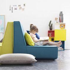 cubit sofa + shelving