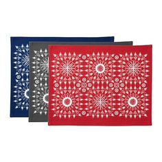 i would like to make a patchwork of these ikea placemats