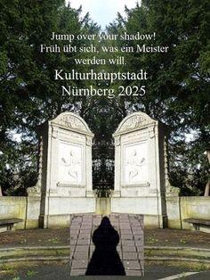 'Jump over your shadow! #NUE2025 CCXVI' von Martin Blättner bei artflakes.com als Poster oder Kunstdruck $15.77