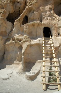 Bandelier National Monument is just outside the city of Los Alamos, New Mexico