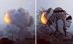 Palestinians-Turn-Israeli-Rocket-Strike-Smokes-Into-Art-10