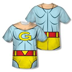 Amiguosly Gay Duo Gary Costume Sublimation T-Shirt