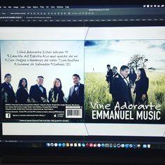 Finalmente terminando este álbum musical #mezcla #grabación #masterizacion #fotografia y #diseño de #portada. Gracias al grupo #EmamanuelMusic por la oportunidad. . #producer #christianmusic #lifeofaphotographer #designer #photographer #coverdesign #california #musicianslife #art