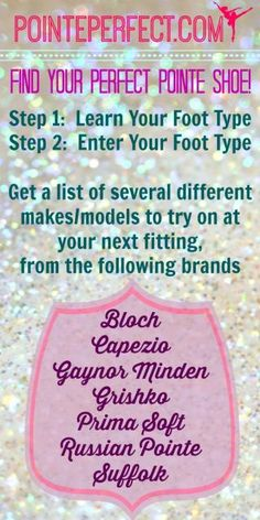 Have you tried the Pointe Shoe Finder at PointePerfect.com?  Just enter your needs in a shoe, and it'll kick back several different makes/models of shoe that match your specs!  Oh, and it's free.  :)   #ballet #pointe