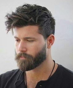 ejemplo look barba pelo