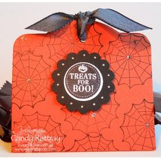 Halloween Treat Holder by stampcandy - Cards and Paper Crafts at Splitcoaststampers